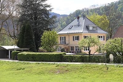 freistehende Villa